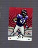 2005 Upper Deck Reflections Ray Lewis #7 HOF Baltimore Ravens Lakeland Kathleen