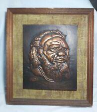 Collectable Vintage Australia Copper Art Size 45X35cm