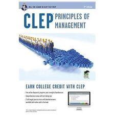 CLEP Principles of Management Book + Online (CLEP Test Preparation)