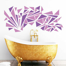 Pegatina pared 60teilig Retro triángulos TRIÁNGULO Decoración Años 70 Adhesivo