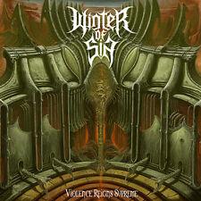 WINTER OF SIN - Violence Reigns Supreme CD (feat. Henri Sattler / GOD DETHRONED)