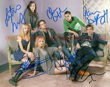 GOSSIP GIRL CAST AUTOGRAPHED 8x10 RP PHOTO ALL 6 BLAKE LIVELY TAYLOR MOMSEN