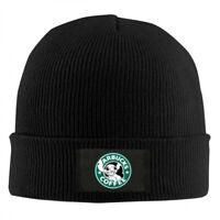 Lilo and Stitch Starbucks Coffee Lo Adjustable Winter Knit Cap Beanie Cap Unisex