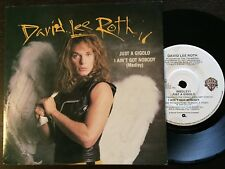 "DAVID LEE ROTH - - JUST A GIGOLO - - 1985 Australian 7"" - - VAN HALEN - EXC"