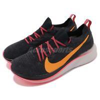 Nike Wmns Zoom Fly FK Flyknit Black Orange Peel Women Running Shoes AR4562-068