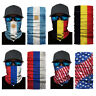 Flag Pattern Motorcycle Biker Neck Tube Scarf Snood Face Mask Warmer Balaclava