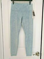"Lululemon Wunder Under High Rise Tight 28""  Snow Washed Chambray  WCHM 12"