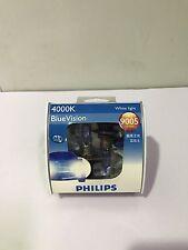 Phillips HB3 Blue Vision 12V 65W 9005 4000K Twin Pack Globes