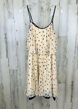 Halston Heritage Women's Chalk Petal Heart Print Dress Size M NWT Retail $395