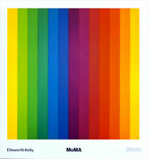 Ellsworth Kelly Spectrum IV MOMA New York Poster 30 x 28