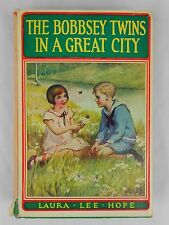 The Bobbsey Twins in a Great City by Laura Lee Hope HCDJ Hardcover #9