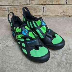 Pearl Izumi Tri Fly V Carbon Triathlon Cycling Shoes EUR 44.5 Men's 11.5 EUC
