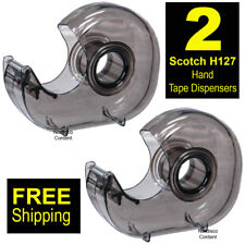 """2 Each, Scotch H127 Hand Tape Dispenser For 1"""" Core Tapes"""