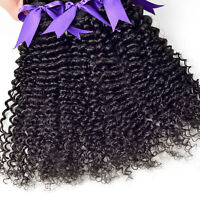 3 Bundles Curly Hair Brazilian Hair Weave Hair Extensions Haarverlängerungen WS6