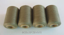BEAVER #C8598 T-40  POLYESTER SERGER & QUILTING THREAD 4 TUBES 1000 YDS. EA.
