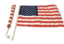 United States Of American Flag Patriotic Car Window USA 4th Of July Set Of 2