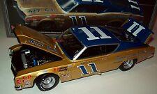 Mario Andretti 1968 Bunnell Motor Co #11 Mercury Cyclone 1/24 NASCAR Legends