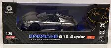 Porsche 918 Spyder Remote Controlled Car Silver
