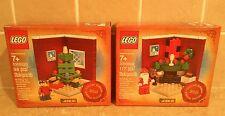 LEGO CREATOR - 3300002 & 3300020 Christmas Holiday Sets - RARE Limited Edition