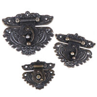 Antique Latches Catches Hasps Solid Clasp Buckles Agraffe Small Lock For Box CJ