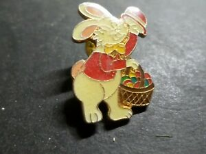 COLLECTION PIN'S OBJETS PUBLICITAIRES, LAPIN, RABBIT BADGET