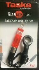 TASKA RIZALITE MINI BALL CHAIN CLIP SET - RED - FREE UK P & P