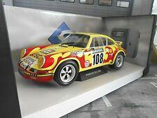 PORSCHE 911 Carrera 2.8 RSR Rallye Tour de France 1973 #108 Ballot L Solido 1:18