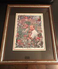 "UGA Georgia Bulldogs Football "" An Athletic Heritage"" Collage artwork print SEC"