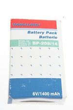 Vanguard bp-208/14 NiCd VIDEO BATTERIA 6 VOLT/1400mah PER JVC NUOVO!