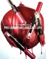 Mac Pro Longwear Lipcolour Long-Last Lips Choose Shade New In Box full size