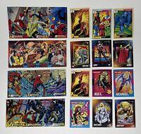 Various Lot of Marvel Trading Cards Spiderman Venom 1991 92 94 Uncut Promos