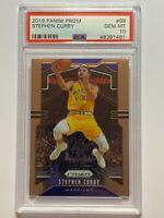 Stephen Steph Curry 2019 Panini Prizm #98 NBA Golden State Warriors PSA 10 GEM