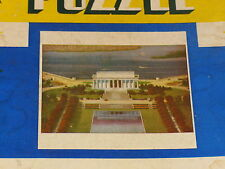 Vintage Perfect Picture Puzzle ~ Lincoln Memorial   #250 Made in USA