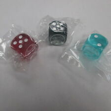 Yu-gi-oh! Dragons Of Legend Complete Set of 3 Dice Critias Hermos Timaeus