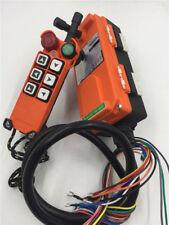 F21-E1 AC/DC18~65V 6 Channels Hoist Crane Remote Control Wireless Radio Control