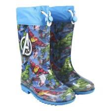 Avengers Kinder Gummistiefel Regenstiefel Stiefel Regenboots Regenschuhe Blau