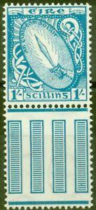 Ireland 1940 1s Light Blue SG122 Fine Mtd Mint
