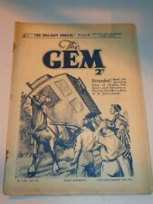 GEM #1595 SEPTEMBER 10TH 1938 BRITISH WEEKLY COMIC TOM MERRY ORIGINAL VINTAGE^