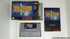 The Lord of the Rings - Super Nintendo - Snes USA