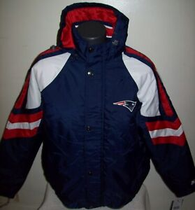 NEW ENGLAND PATRIOTS STARTER Pro Line Hooded Jacket  4X