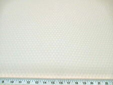 Discount Fabric Drapery Jacquard Check Eggshell White DR42
