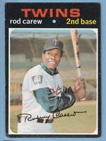 1971 Topps #210 Rod Carew Minnesota Twins  VG+   JVB