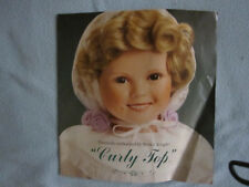 Curly Top Shirley Temple Danbury MINT Porcelain Doll