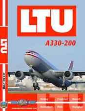 Just Planes LTU Airbus A330-200 Cockpit DVD World Air Routes