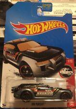 Hot Wheels TREASURE HUNT Sheriff HW PURSUIT Rescue #1/10 RARE HTF 2017 Car Cop