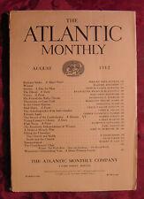 ATLANTIC Monthly Magazine August 1912 James O Fagan William John Hopkins