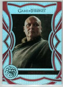 GAME OF THRONES THE COMPLETE SERIES THE CAST C22 INSERT LORD VARYS