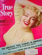 Marilyn Monroe Magazine 1951 True Story Love Nest Don Ornitz Jeanne Crain Rare