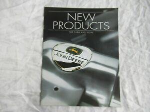 John Deere tractor products and accessories catalog brochure umbrella