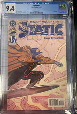 Static #45 CGC 9.4 1997 Last Issue Of First Run.  Movie New Series.